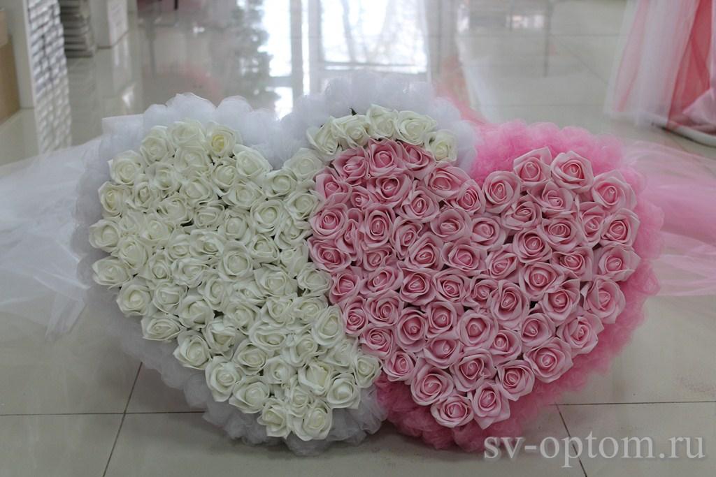 Сделать сердце своими руками свадебное 959