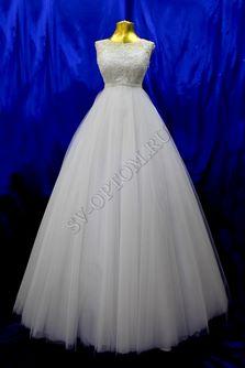 Свадебное платье Цвет: Белый №1233 раз. 44. арт. 002