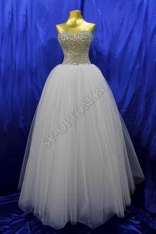 Свадебное платье Цвет: Белый, Кремовый №1249 раз. 40, 42, 44, 46. арт. 007
