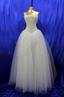 Свадебное платье Цвет: Айвори №1252 раз. 42, 44. арт. 008