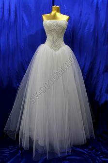 Свадебное платье Цвет: Белый №1222 раз. 42, 44, 48. арт. 010