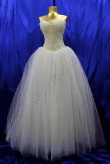 Свадебное платье Цвет: Айвори №1254 раз. 42, 46, 48. арт. 012