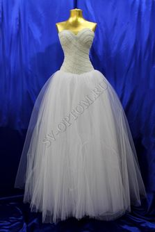 Свадебное платье Цвет: Белый №1212 раз. 42. арт. 013