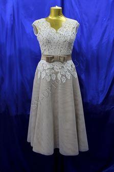 Свадебное платье Цвет: Капучино №ЕВ142 раз. 46. арт. 015