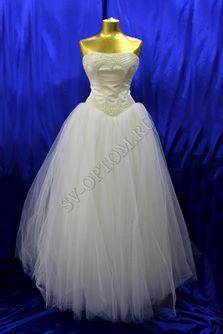 Свадебное платье Цвет: Айвори №452 раз. 46. арт. 016