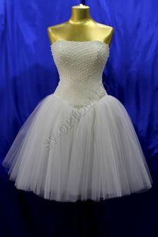 Свадебное платье Цвет: Айвори раз. 46. арт. 018
