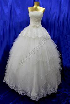 Свадебное платье Цвет: Айвори №969 раз. 40. арт. 019