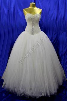 Свадебное платье Цвет: Айвори №99 раз. 46. арт. 020