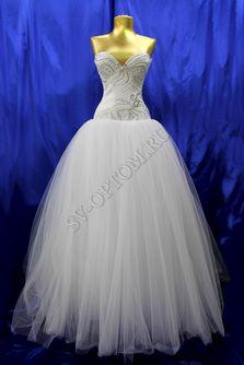 Свадебное платье Цвет: Белый №310 раз. 46. арт. 021