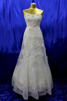 Свадебное платье Цвет: Айвори №376 раз. 46. арт. 026