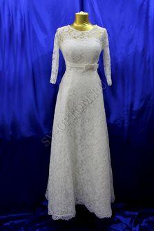 Свадебное платье Цвет: Айвори раз. 48. арт. 029