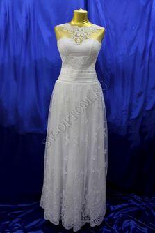 Свадебное платье Цвет: Белый №15024 раз. 46. арт. 034