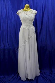 Свадебное платье Цвет: Белый №ЕВ155 раз. 48. арт. 037