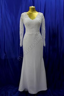 Свадебное платье Цвет: Белый №ЕВ129 раз. 46. арт. 038