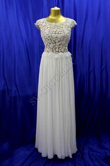 Свадебное платье Цвет: Капучино/Крем №ЕВ155 раз. 46. арт. 041