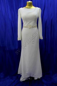 Свадебное платье Цвет: Кремовый №ЕВ148 раз. 46. арт. 042