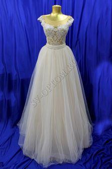 Свадебное платье Цвет: Пудра №1311 раз. 44. арт. 044