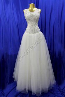 Свадебное платье Цвет: Айвори №7 раз. 44. арт. 046