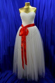 Свадебное платье Цвет: Айвори, Белый №189 раз. 48, 50, 52. арт. 048