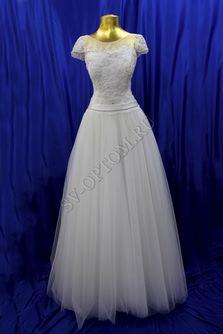 Свадебное платье Цвет: Белый №41 раз. 46. арт. 052