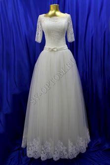 Свадебное платье Цвет: Айвори №805 раз. 46. арт. 053