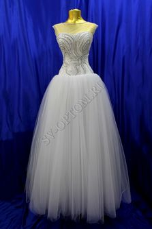 Свадебное платье Цвет: Белый №71 раз. 46. арт. 054