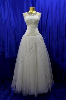 Свадебное платье Цвет: Белый №67 раз. 46. арт. 055