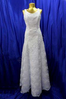 Свадебное платье Цвет: Белый №28 раз. 42. арт. 058