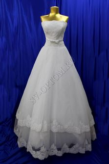 Свадебное платье Цвет:Белый №154 раз. 46. арт. 066