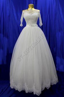 Свадебное платье Цвет: Айвори №1318 раз. 44. арт. 067