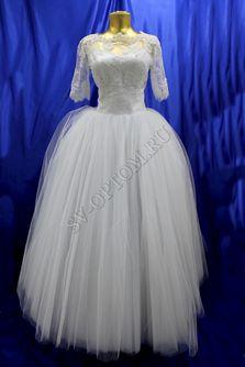 Свадебное платье Цвет:Белый №15001 раз. 46. арт. 072