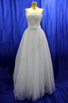 Свадебное платье Цвет: Белый №190 раз. 42. арт. 075