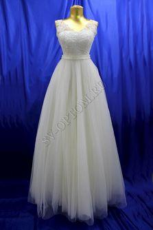 Свадебное платье Цвет: Айвори №1230 раз. 42. арт. 076