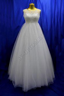 Свадебное платье Цвет: Белый №1233 раз. 44. арт. 079