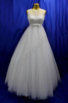 Свадебное платье Цвет: Белый №1229 раз. 48. арт. 081