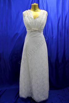 Свадебное платье Цвет: Кремовый №608 раз. 54. арт. 092