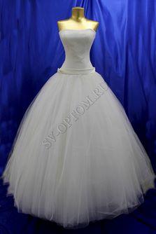 Свадебное платье Цвет: Кремовый №13 раз. 44. арт. 096