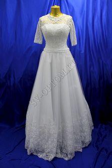 Свадебное платье Цвет: Белый №807 раз. 46. арт. 098