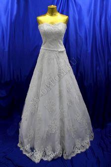Свадебное платье Цвет: Белый №364 раз. 46. арт. 099