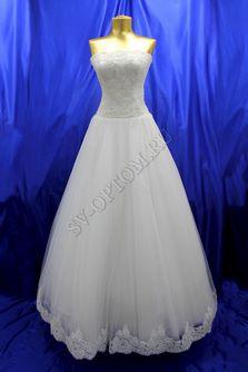 Свадебное платье Цвет: Кремовый №184, 234 раз. 44. арт. 100