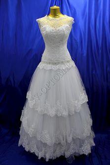 Свадебное платье Цвет: Белый №5 раз. 46. арт. 101