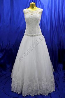 Свадебное платье Цвет: Белый №625 раз. 56. арт. 102