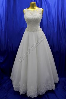 Свадебное платье Цвет: Кремовый №1319 раз. 48. арт. 103