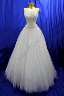 Свадебное платье Цвет: Кремовый №245 раз. 46. арт. 104