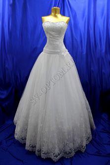 Свадебное платье Цвет: Белый №167 раз. 46. арт. 145