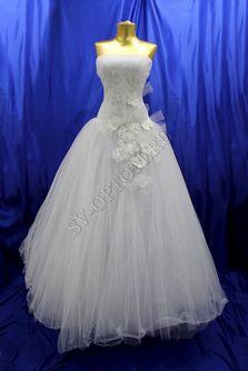 Свадебное платье Цвет: Белый №155 раз. 42. арт. 105