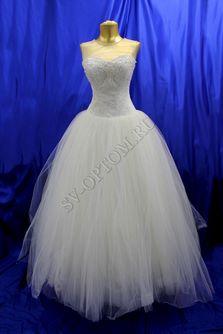 Свадебное платье Цвет: Айвори №73 раз. 46. арт. 106