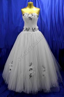 Свадебное платье Цвет: Белый №147 раз. 48. арт. 107
