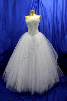 Свадебное платье Цвет: Белый №31 раз. 44. арт. 109