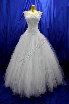 Свадебное платье Цвет: Белый №68 раз. 46. арт. 110